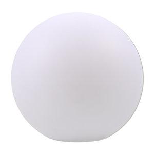 Solar LED-RGB-Kugel - weiß - 30 cm