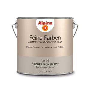 """Alpina              Feine Farben """"Dächer von Paris"""" 2,5 L"""