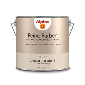 """Alpina              Feine Farben """"Zauber der Wüste"""" 2,5 L"""