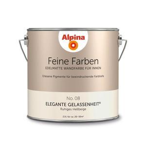 """Alpina              Feine Farben """"Elegante Gelassenheit"""" 2,5 L"""
