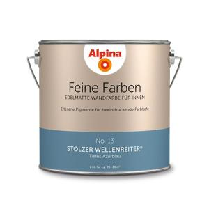 """Alpina              Feine Farben """"Stolzer Wellenreiter"""" 2,5 L"""