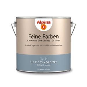 """Alpina              Feine Farben """"Ruhe des Nordens"""" 2,5 L"""