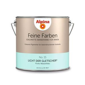 """Alpina              Feine Farben """"Licht der Gletscher"""" 2,5 L"""