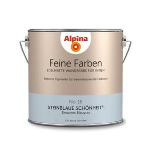 """Alpina              Feine Farben """"Steinblaue Schönheit"""" 2,5 L"""
