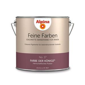 """Alpina              Feine Farben """"Farbe der Könige"""" 2,5 L"""