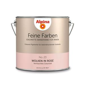 "Alpina              Feine Farben ""Wolken in Rose"" 2,5 L"