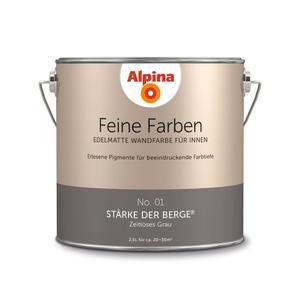 """Alpina              Feine Farben """"Stärke der Berge"""" 2,5 L"""