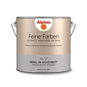 "Alpina              Feine Farben ""Nebel im November"" 2,5 L"