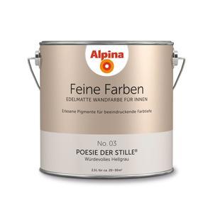 """Alpina              Feine Farben """"Poesie der Stille"""" 2,5 L"""