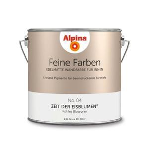 """Alpina              Feine Farben """"Zeit der Eisblumen"""" 2,5 L"""