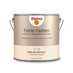 """Alpina              Feine Farben """"Vers in Pastell"""" 2,5 L"""