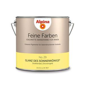 """Alpina              Feine Farben """"Glanz des Sonnenkönigs"""" 2,5L"""