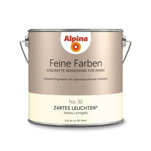 """Alpina              Feine Farben """"Zartes Leuchten"""" 2,5 L"""