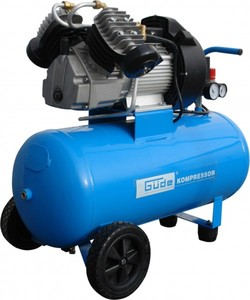 Güde Kompressor-Set 402/10/50 ,  230 V, 220 W, 50 l, 15 teilig Zubheör