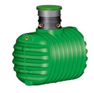 Garantia Regenwasser Erdtank Cristall ,  1.600 l, begehbar