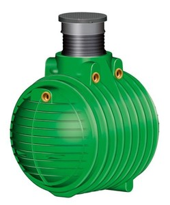Garantia Regenwasser Erdtank Columbus ,  4.500 l, PKW-befahrbar