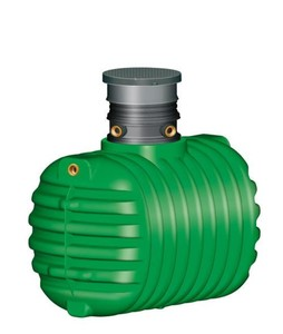 Garantia Regenwasser Erdtank Cristall ,  1.600 l, befahrbar