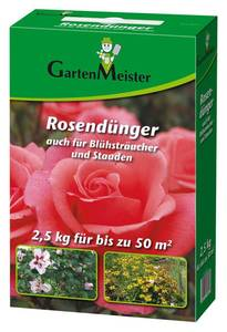 Rosendünger 2,5 kg GartenMeister