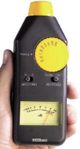 Analoges Schallpegel - Messgerät mit Stativgewindeanschluss Wetekom
