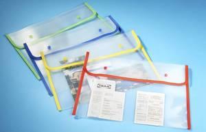 Dokumentenmappe, 4er-Set, 4 Farben
