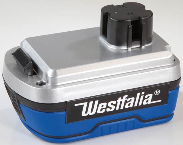 14,4 V Li-Ion Akku für Säbelsäge Westfalia