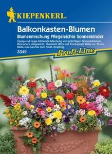 Kiepenkerl Saatgut Balkonkasten-Blumen ,  ca. 4 lfd. Meter Balkonkasten