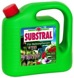 Substral Flüssigdünger für Balkonpflanzen ,  2 L