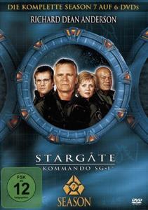 Stargate Kommando SG 1 - Season 7 Box [6 DVDs] - M-Lock Box