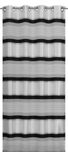 Elbersdrucke Ösenschal Horizon ´´schwarz-weiß, 140 x 245 cm´´