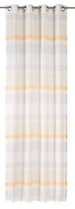 Elbersdrucke Ösenschal Sweet Love Stripe ´´offwhite-beige-apricot, 140 x 255 cm´´