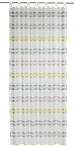 Elbersdrucke Schlaufenschal Kiruna ´´offwhite-grün, 140 x 255 cm´´