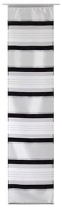 Elbersdrucke Flächenvorhang Horizon ´´schwarz-weiß, 60 x 245 cm´´