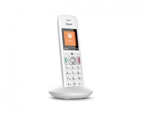 Gigaset Telefon E370HX ,  schnurlos, weiß