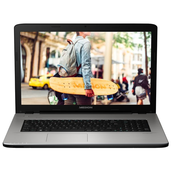 "MEDION AKOYA® E7419, Intel® Celeron® 3855U, Windows 10 Home, 43,9 cm (17,3"") HD Display, 1.000 GB HDD, 4 GB RAM, Notebook"