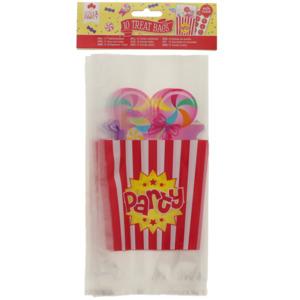 Süßigkeitentüte mit Verschluss-Sticker