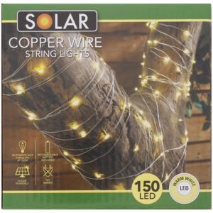 Solar-Kupferdrahtbeleuchtung