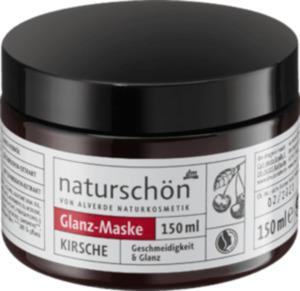 alverde NATURKOSMETIK naturschön Haarmaske Glanz