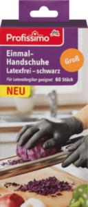 Profissimo Profissimo Einmalhandschuhe Latexfrei Schwarz Groß