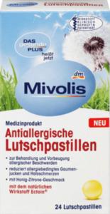 Mivolis Antiallergische Lutschpastillen