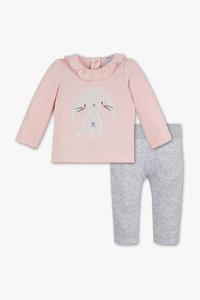 Baby Club         Baby-Outfit - 2 teilig - Glanz Effekt
