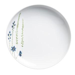 KAHLA Teller flach /Speiseteller Ø 27 cm MAGIC GRIP FIVE SENSES Weiß mit Blumendekor