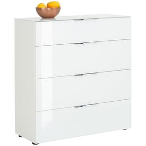 CASAVANTI Kommode COMO 90 x 99 x 40 cm Holznachbildung weiß