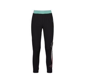 Damen-Fitness-Hose mit Kontrast-Bund