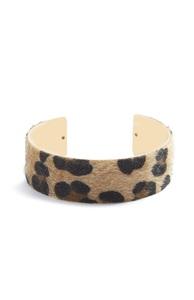 Armreif mit Leopardenprint
