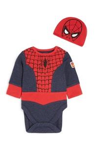 """""""Spiderman"""" Body für Neugeborene"""