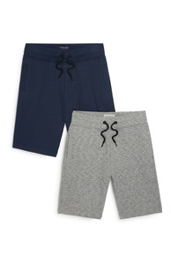 Jerseyshorts (Teeny Boys), 2er-Pack
