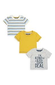 T-Shirts für Babys (J), 3er-Pack