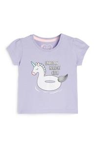 T-Shirt mit Einhorn-Print für Babys (M)