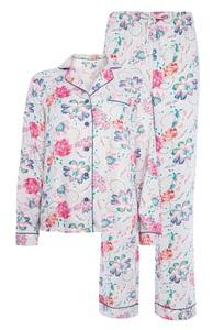 Pyjamaset mit Blumenmuster