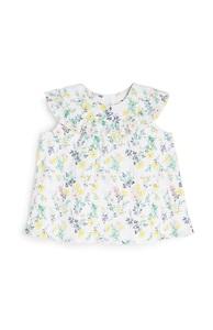 Bluse mit Blumenmuster für Babys (M)